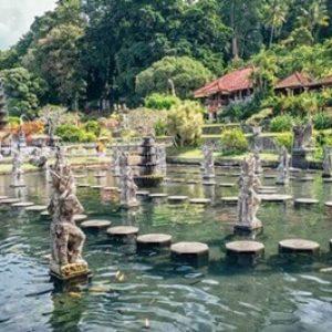 Water Palace of Tirta Gangga @Bali