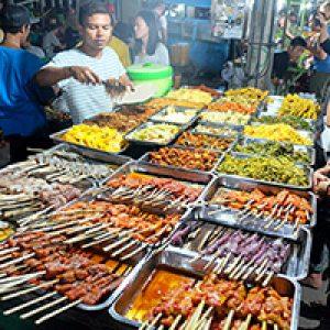 Street food @Gili T