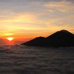 Sunrise-Volcano