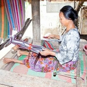 weave songket @Lombok