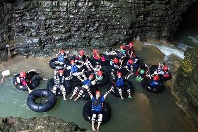 Day 3: Pindul Cave Tubing - Body Rafting River Oyo - Sundak Beach