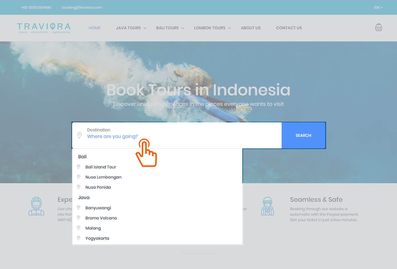 how to book - Traviora