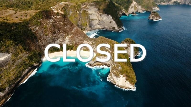 bali closed